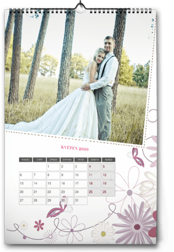 fotokalendář A3 - svatba